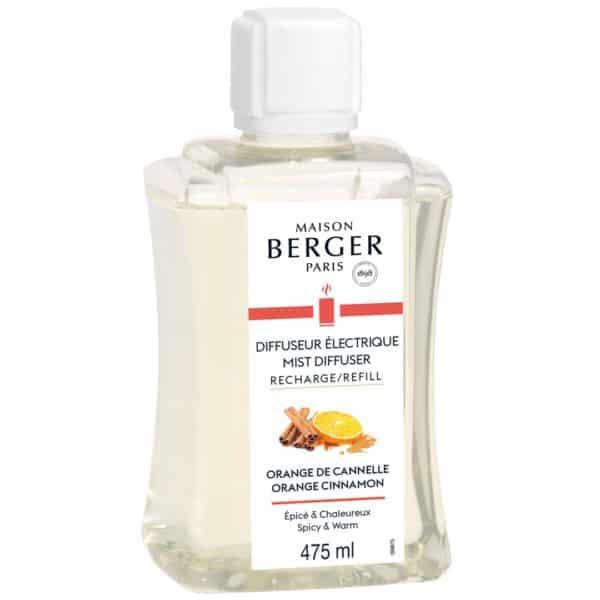 Maison Berger - Ricarica Orange De Cannelle 475ml Per Diffusore Elettrico Aroma - Candlestore.eu