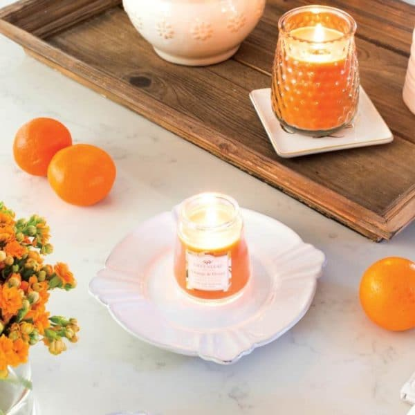 Greenleaf Orange & Honey - Candele Profumate Signature 368gr - Candlestore.eu