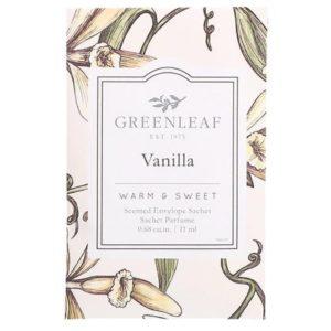 Greenleaf Vanilla - Buste Profumate Mini Per Cassetti - Candlestore.eu