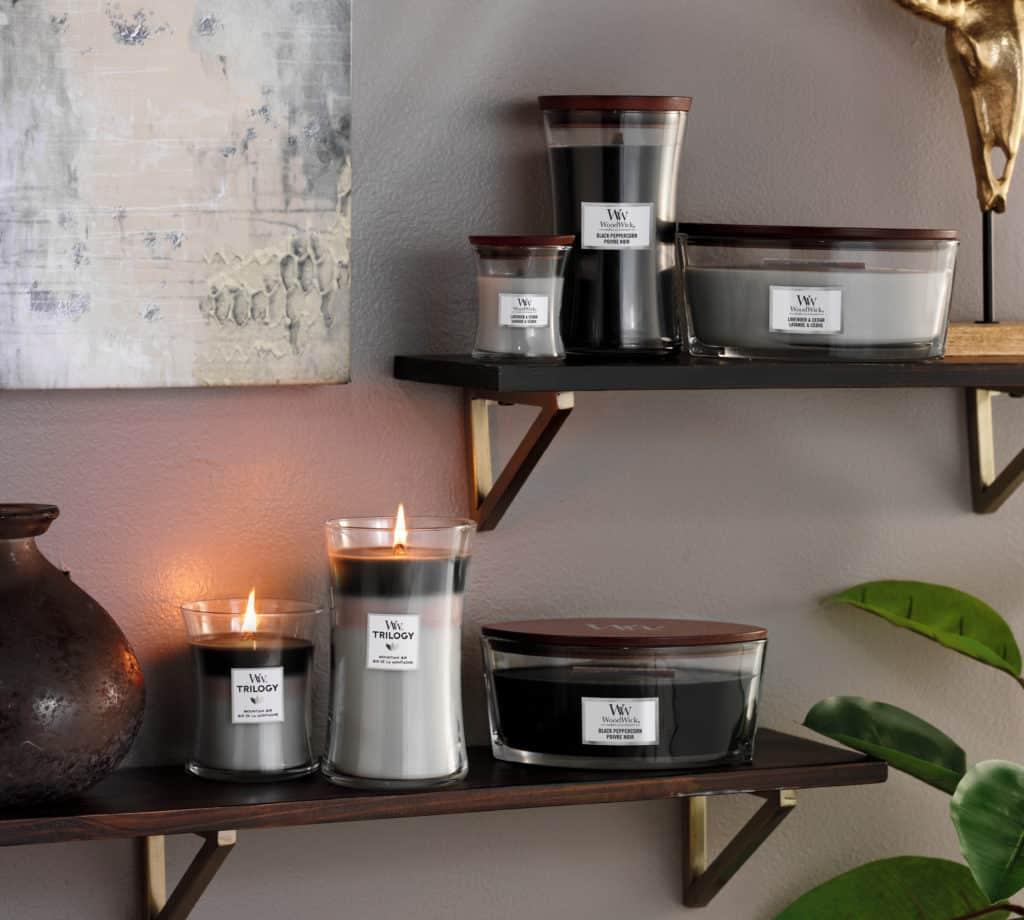 Candele Profumate WoodWick Candles - Candlestore.eu