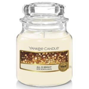 All Is Bright Yankee Candle - Candele In Giara Piccola 104gr - Candlestore.eu