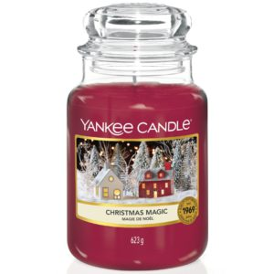 Yankee Candle Christmas Magic - Candele In Giara Grande 623gr - Candlestore.eu