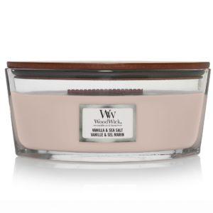 Vanilla & Sea Salt - Candele Ellipse WoodWick Candles - Candle Store