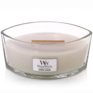 Smoked Jasmine WoodWick Candle Candele Ellipse - Candle Store