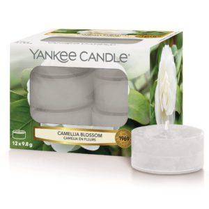 Camellia Blossom Yankee Candle - Candele Tea Light Profumate - Candlestore.eu