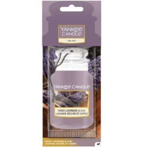 Dried Lavender & Oak - Car Jar Yankee Candle - Candlestore.eu