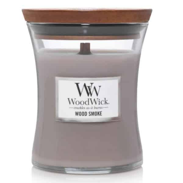 Wood Smoke - Candele In Giara Media WoodWick Candles - Candlestore.eu