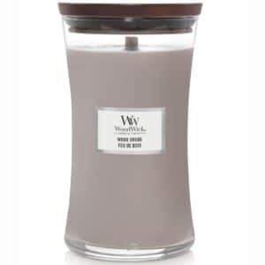Wood Smoke - Candele In Giara Grande WoodWick Candles - Candle Store