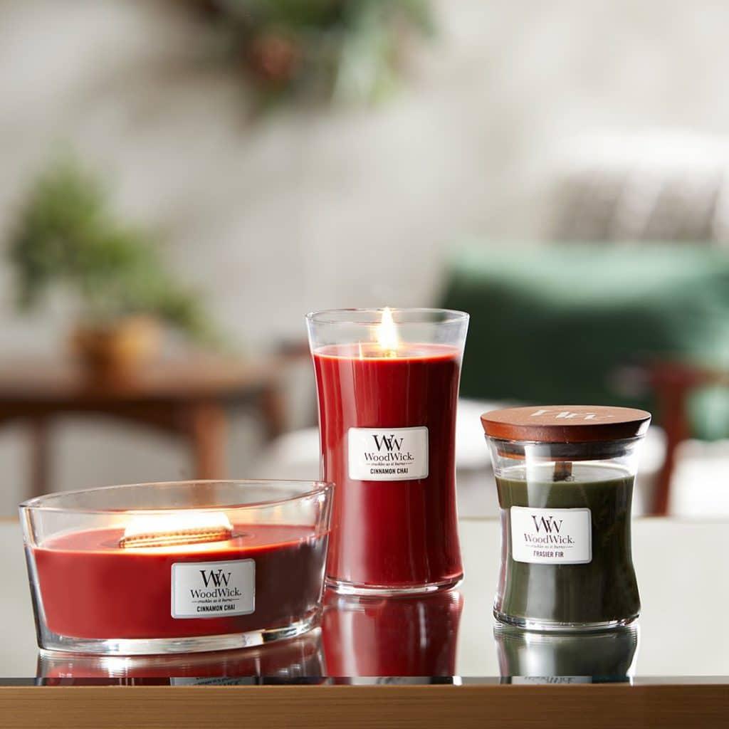 Candele Profumate Classic WoodWick Candles - Candlestore.eu