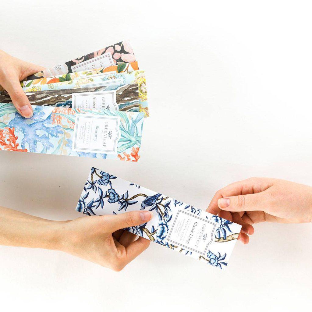 Greenleaf Gifts Buste Profumate Per Cassetti - Candlestore.eu
