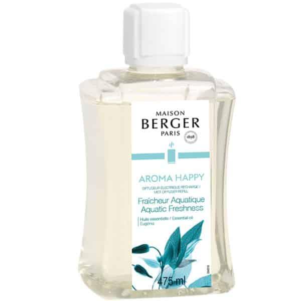 Maison Berger - Ricarica Aroma Happy 475ml Per Diffusore Elettrico Aroma - Candlestore.eu