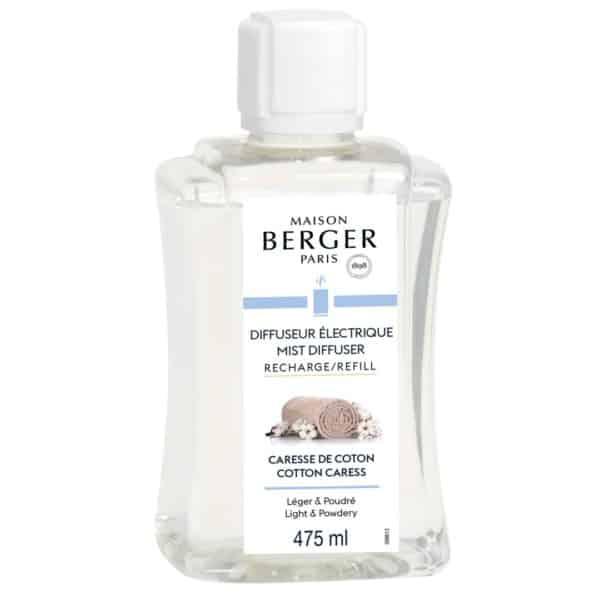 Maison Berger - Ricarica Caresse De Coton 475ml Per Diffusore Elettrico Aroma - Candlestore.eu