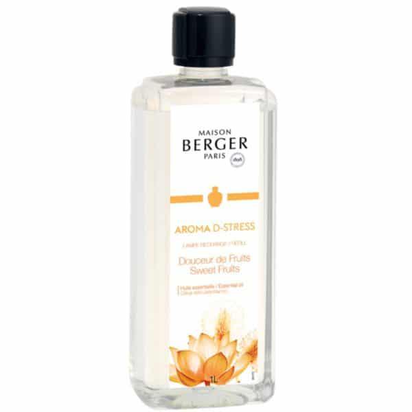 Maison Berger Aroma D-Stress - Ricarica Di Profumo Per Lampada Catalitica 500ml - Candlestore.eu