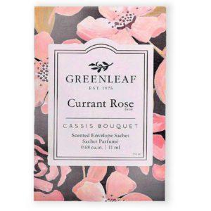 Greenleaf Currant Rose - Buste Profumate Mini Per Cassetti - Candlestore.eu