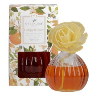 Greenleaf Orange & Honey - Diffusore Profumato Per Ambiente a Fiore - Candlestore.eu