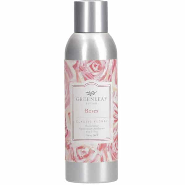 Greenleaf Roses - Spray Per Ambiente 200ml - Candlestore.eu
