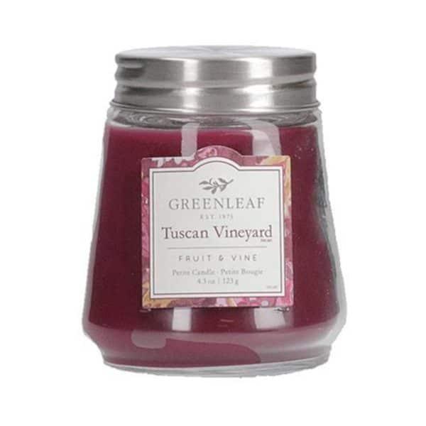 Greenleaf Tuscan Vineyard - Candele Profumate Greenleaf 123gr - Candlestore.eu