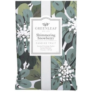 Greenleaf Shimmering Snowberry - Buste Profumate Grandi Per Armadi - Candlestore.eu