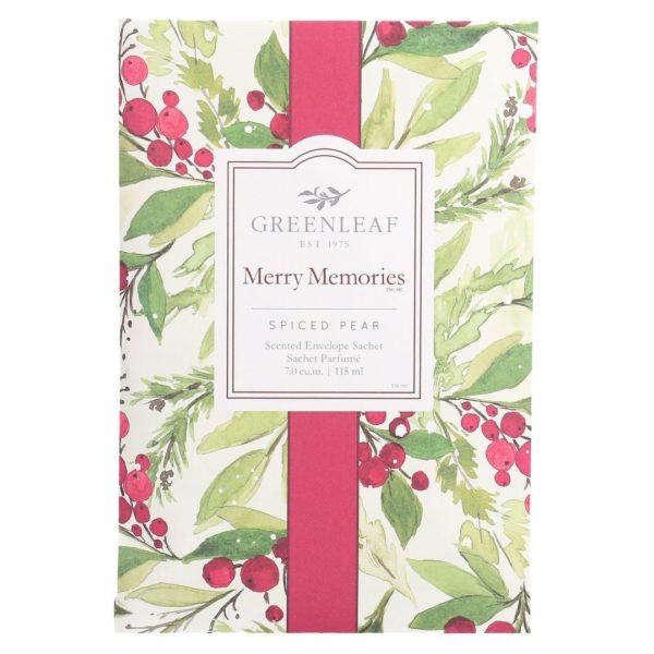 Greenleaf Merry Memories - Buste Profumate Grandi Per Armadi - Candlestore.eu