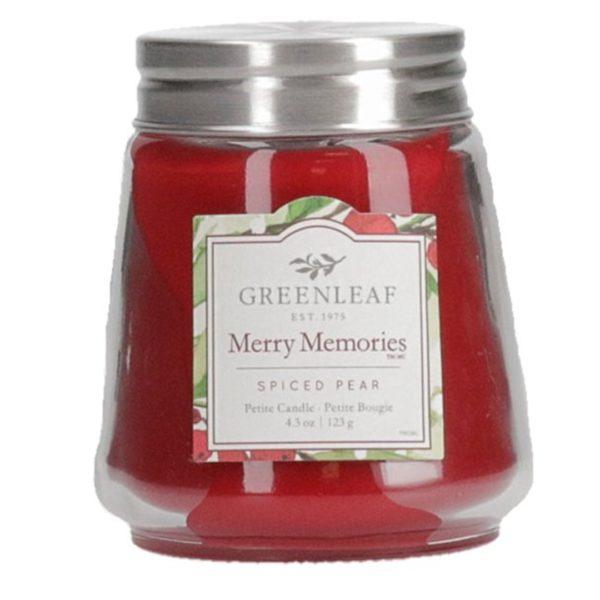 Greenleaf Merry Memories - Candele Profumate Signature 123gr - Candlestore.eu