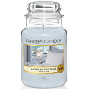 Yankee Candle A Calm And Quiet Place - Candele In Giara Grande 623gr - Candlestore.eu