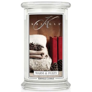 Warm & Fuzzy - Candele In Giara Grande Kringle Candle - Candlestore.eu