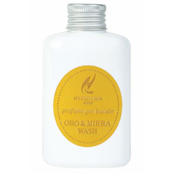 Hypno Casa - Concentrato Lavatrice Profuma Bucato, Fragranza Oro & Mirra Wash 100ml - Candlestore.eu