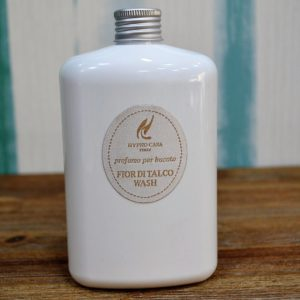 Hypno Casa - Concentrato Lavatrice Profuma Bucato, Fragranza Fior Di Talco Wash 400ml - Candlestore.eu