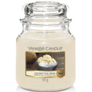 Coconut Rice Cream - Candele In Giara Media Yankee Candle - Candlestore.eu