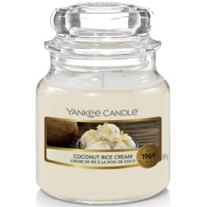 Coconut Rice Cream - Candele In Giara Piccola Yankee Candle - Candlestore.eu
