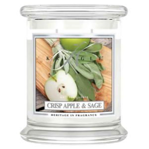 Crisp Apple & Sage - Candele In Giara Media Kringle Candle - Candlestore.eu