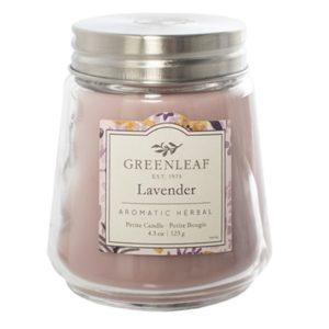 Lavender Greenleaf - Candele Profumate Signature 123gr - Candlestore.eu