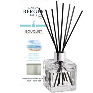 Maison Berger Vent d'Ocean - Diffusore a Bastoncini Cube 125ml - Candle Store
