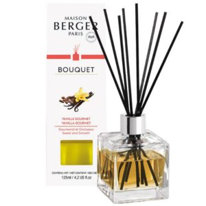 Maison Berger Vanille Gourmet - Diffusore a Bastoncini Cube 125ml - Candle Store