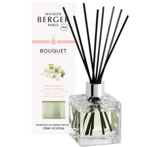 Maison Berger Jasmin Precieux - Diffusore a Bastoncini Cube 125ml - Candle Store