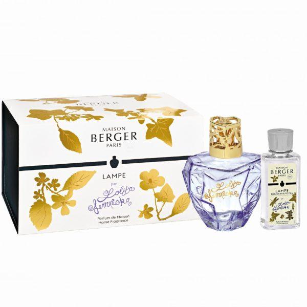 Cofanetto Lampada Lolita Lempicka Lilla + 1 Ricarica 250ml Maison Berger - Candle Store
