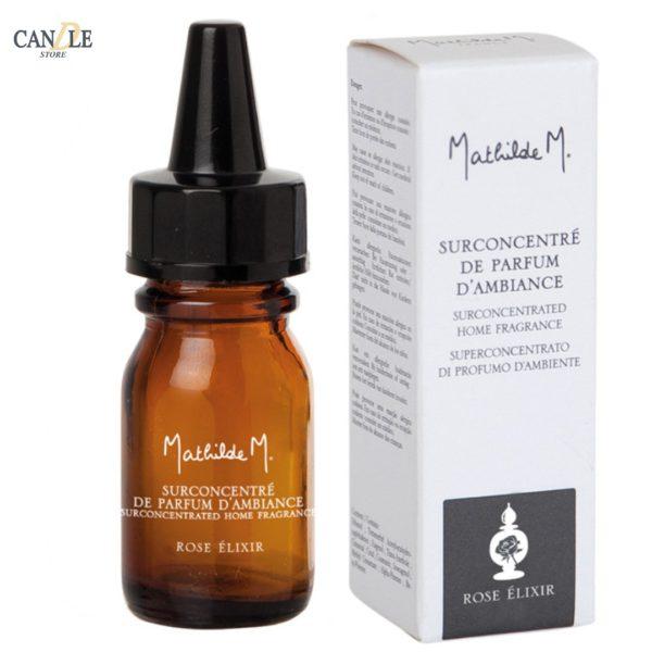 Olii Essenziali Profumati 10ml, Fragranza Rose Elixir - Mathilde M