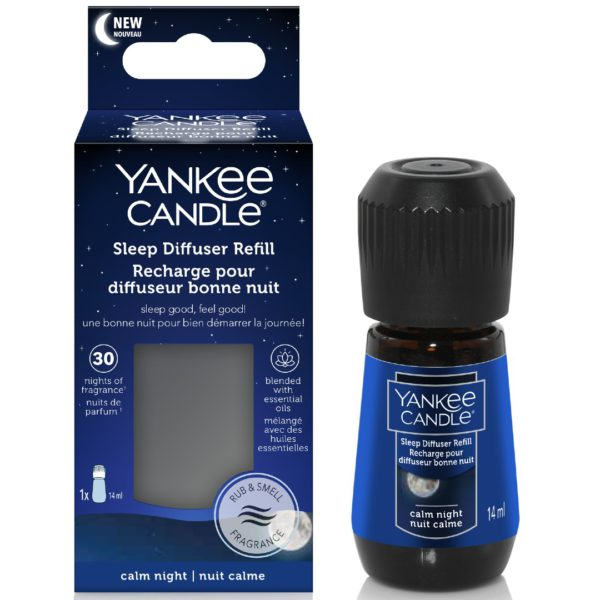 Calm Night - Ricarica Per Sleep Diffuser Yankee Candle - Candle Store