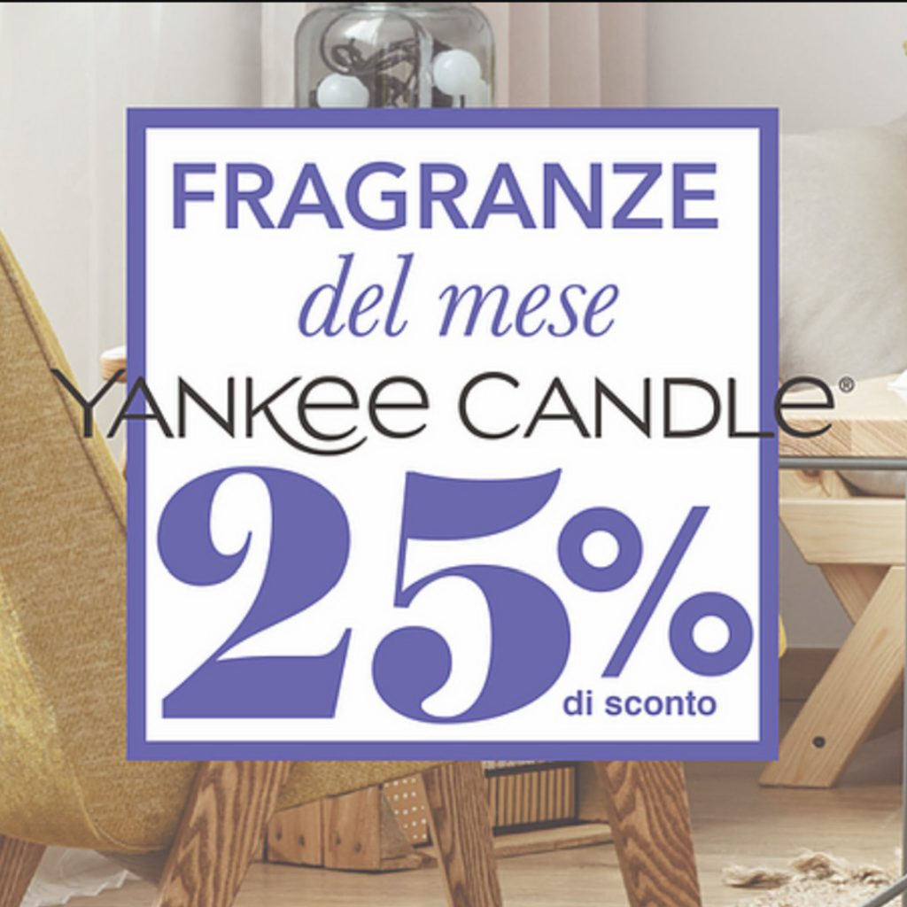 Fragranze Del Mese Yankee Candle -25% - Candle Store