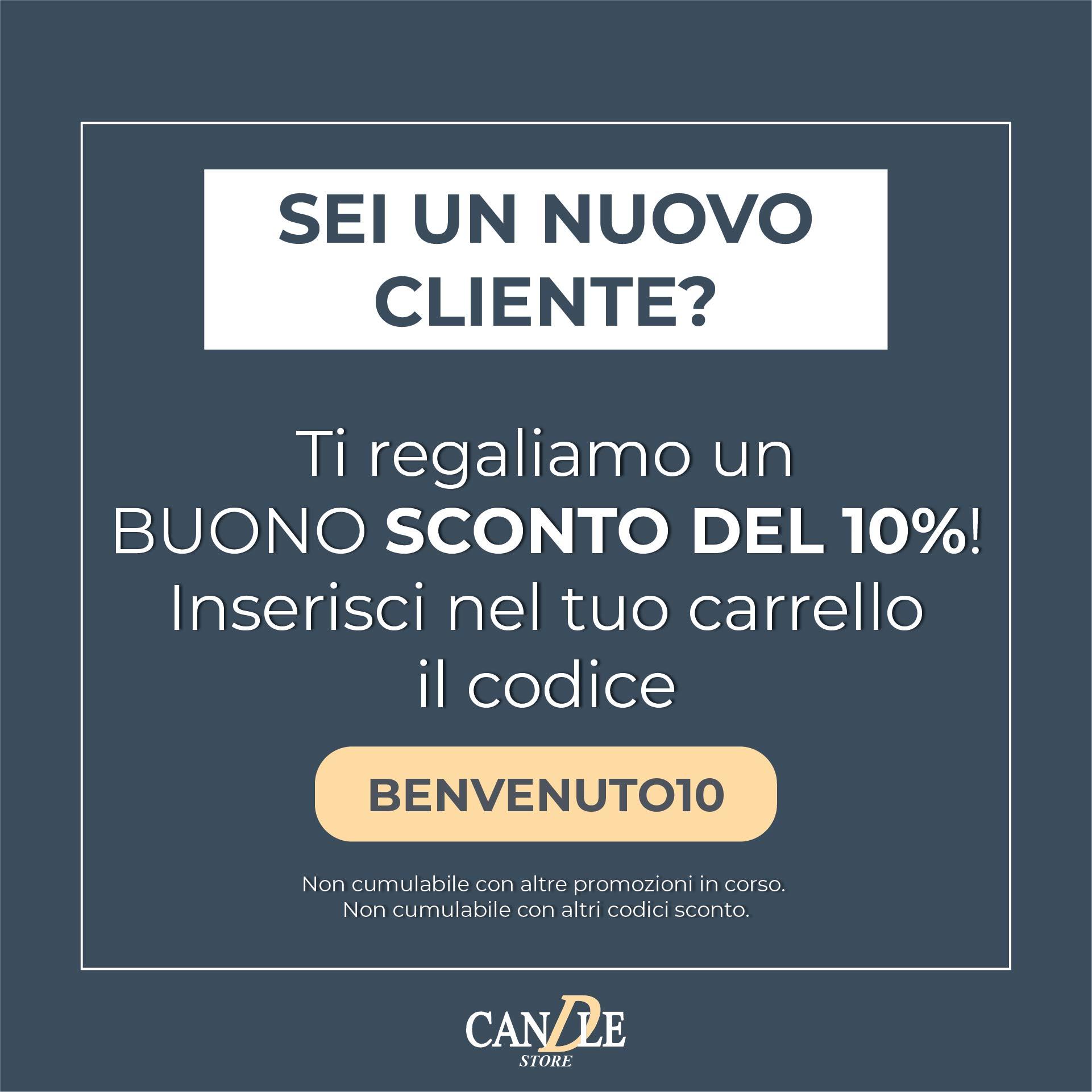 Codice Sconto Nuovo Cliente - Candle Store
