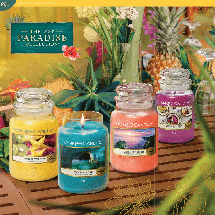 The Last Paradise Yankee Candle - Candle Store