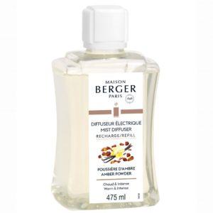 Maison Berger Ricarica Poussière d'Ambre 475ml Per Diffusore Elettrico Aroma - Candle Store