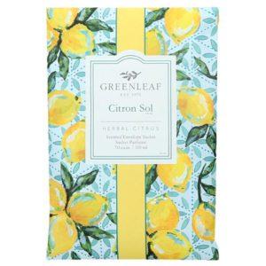 Citron Sol Greenleaf - Buste Profumate Grandi Per Armadi - Candle Store