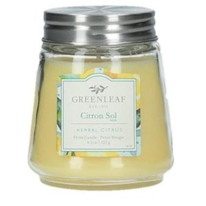 Citron Sol Greenleaf - Candele Profumate Signature 123gr - Candle Store