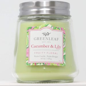 Cucumber & Lily Greenleaf - Candele Profumate Signature 123gr - Candle Store