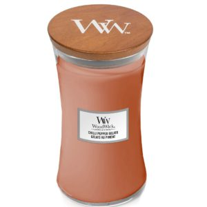Chilli Pepper Gelato - Candele In Giara Grande WoodWick Candles - Candle Store