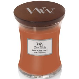 Chilli Pepper Gelato - Candele In Giara Media WoodWick Candles - Candle Store