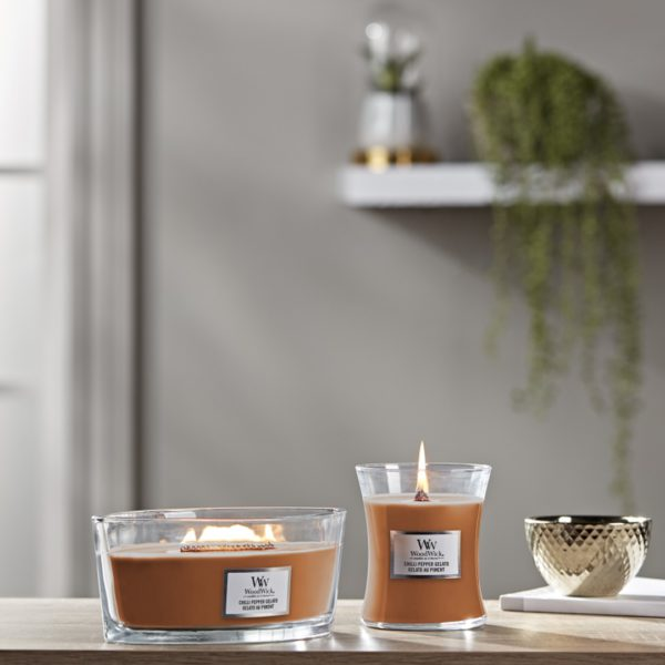 Chilli Pepper Gelato WoodWick Candle - Candle Store