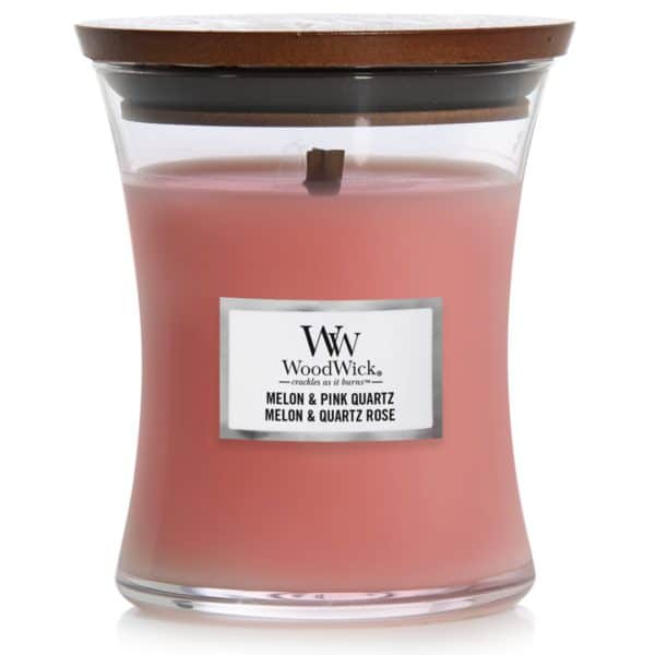 Melon & Pink Quartz - Candele In Giara Media WoodWick Candles - Candle Store