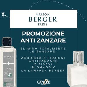 Promozione Lampe Berger Anti Zanzare Insetticida - Candle Store
